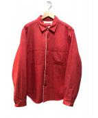 Supreme(シュプリーム)の古着「Sherpa Lined Denim Shirt」|レッド