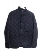 Traditional Weatherwear(トラディショナルウェザーウェア)の古着「キルティングジャケット」|ネイビー
