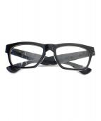 A.D.S.R.(エーディーエスアール)の古着「伊達眼鏡」|ブラック