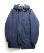 NANGA(ナンガ)の古着「FROSTYダウンコート」|ネイビー