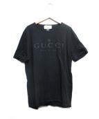 GUCCI(グッチ)の古着「ロゴプリントtシャツ」|ブラック