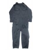 Engineered Garments(エンジニアードガーメン)の古着「Winston Suit-PC Gangster St.」|ブラック