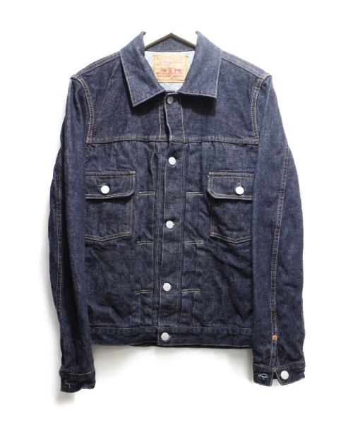 tcb jeans(ティーシービー ジーンズ)tcb jeans (ティーシービー ジーンズ) 50`s JeanJacket インディゴ サイズ:36 定価20.742円の古着・服飾アイテム