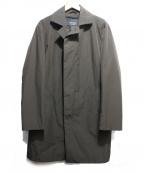 EPOCA UOMO(エポカウォモ)の古着「ライナー付ステンカラーコート」|カーキ