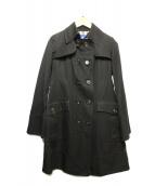 BURBERRY BLUE LABEL(バーバリーブルーレーベル)の古着「トレンチコート」|ブラック