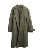 SACRA(サクラ)の古着「ローブコート」 グリーン