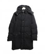 INTERMEZZO(インターメッツォ)の古着「フーデッドダウンコート」|ブラック