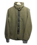 CURLY(カーリー)の古着「ボアフリースジャケット」|グリーン