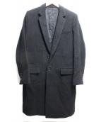 LITHIUM HOMME(リチウム オム)の古着「NEW CLASSIC CHESTERFIELD COAT 」|ブラック