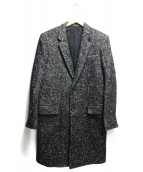 LITHIUM HOMME(リチウム オム)の古着「RAFANELLI TWEED NEW CLASSIC CH」|ブラック