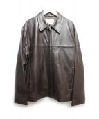 McGREGOR(マクレガー)の古着「レザードリズラージャケット」|ブラウン
