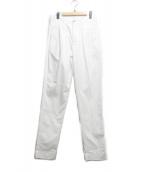 BEAMS(ビームス)の古着「タックパンツ」|ホワイト