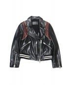 ALL SAINTS(オールセインツ)の古着「ライダースジャケット」|ブラック