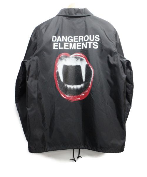 UNDER COVER(アンダーカバー)UNDER COVER (アンダーカバー) DANGEROUS ELEMENTS Coach Jacke ブラック サイズ:M 春物の古着・服飾アイテム