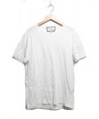 GUCCI(グッチ)の古着「ロゴtシャツ」|ホワイト