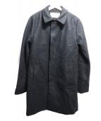 MAISON KITSUNE(メゾンキツネ)の古着「ステンカラーコート」|グレー