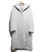 DES PRES(デプレ)の古着「ウールカシミヤフーテッドロングコート」