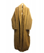 unfil(アンフィル)の古着「stretch superkid mohair knit c」|キャメル