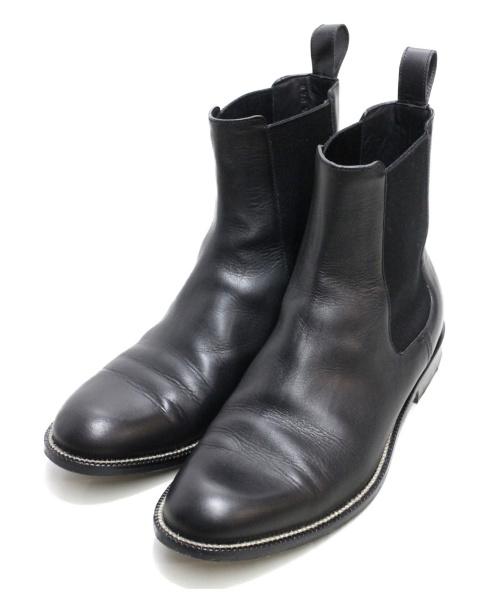 GUCCI(グッチ)GUCCI (グッチ) サイドゴアブーツ ブラック サイズ:6 1/2の古着・服飾アイテム