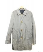 MARCEL LASSANCE(マルセルラサンス)の古着「ステンカラーコート」|ホワイト