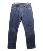 Martin Margiela14(マルタンマルジェラ14)の古着「スリムフィットデニムパンツ」|インディゴ