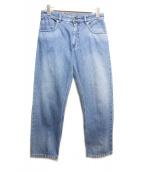 MM6(エムエムシックス)の古着「クラッシュポケットデニム」|ブルー