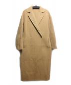 martinique(マルティニーク)の古着「ダブルフェイスチェスターコート」|キャメル