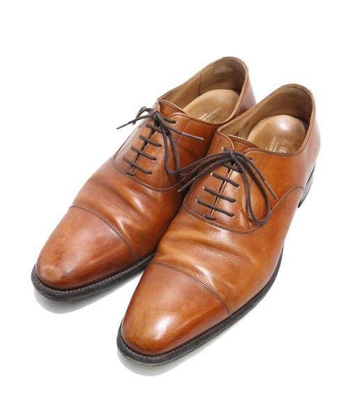 SCOTCH GRAIN(スコッチグレイン)SCOTCH GRAIN (スコッチグレイン) ストレートチップシューズ ブラウン サイズ:25の古着・服飾アイテム
