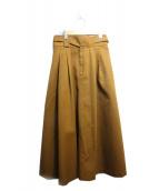 SLOBE IENA(イエナスローブ)の古着「マキシスカート」 ブラウン