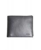 FURLA(フルラ)の古着「2つ折り財布」|ブラック