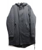 TEAM COZY(チームコージー)の古着「2WAY FISHTAIL PARKA」|ブラック