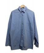 Deuxieme Classe(ドゥーズィエムクラス)の古着「ビッグサイズワイヤーカラーシャツ」|サックスブルー