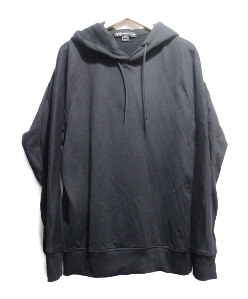Y-3(ワイスリー)Y-3 (ワイスリー) U CLASSIC HOODIE ブラック サイズ:Lの古着・服飾アイテム