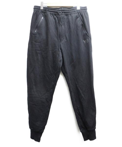 Y-3(ワイスリー)Y-3 (ワイスリー) U CLASSIC CUFF PANTS ブラック サイズ:Mの古着・服飾アイテム