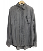 Acne(アクネ)の古着「デニムシャツ」 ブラック
