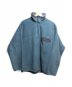 Patagonia(パタゴニア)の古着「シンチラスナップT」 ネイビー