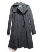 MAX&Co.(マックスアンドコ)の古着「トレンチコート」|ブラック