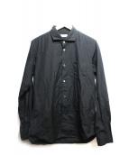 Sans limite(サンリミット)の古着「ブロードワイドスプレッドシャツ」|ブラック