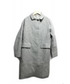 DRESSTERIOR(ドレステリア)の古着「ステンカラーコート」|グレー