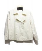23区(23ク)の古着「コーティングPジャケット」|アイボリー