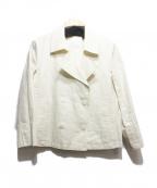 23区()の古着「コーティングPジャケット」|アイボリー