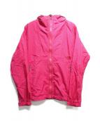 THE NORTH FACE(ザノースフェイス)の古着「ナイロンジャケット」 ピンク