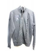 HYDROGEN(ハイドロゲン)の古着「ジップアップジャケット」|グレー