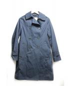 Traditional Weatherwear(トラディショナル ウェザーウェア)の古着「トレンチコート」 ネイビー