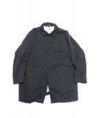 ARTS&SCIENCE(アーツ&サイエンス)の古着「コットンパッカリングコート」|ブラック