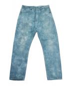 LEVIS RED(リーバイスレッド)の古着「ペグトップデニム」|ブルー