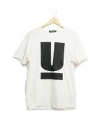UNDER COVER(アンダーカバー)の古着「UロゴTシャツ」 ホワイト