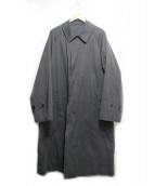 COMOLI(コモリ)の古着「バルカラーコート」|ブラック