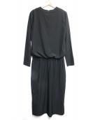 Mila Owen(ミラオーウェン)の古着「ブラウスワンピース」|ブラック