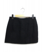CHANEL(シャネル)の古着「ウールタイトスカート」 ブラック